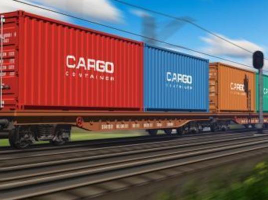 Специальный поезд с упаковочным оборудованием оправился из Харбина в Россию - Логистика