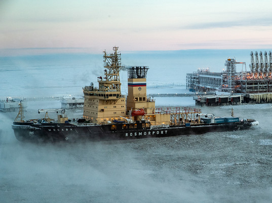 Порты Арктики с начала года перевалили 53,9 млн т грузов