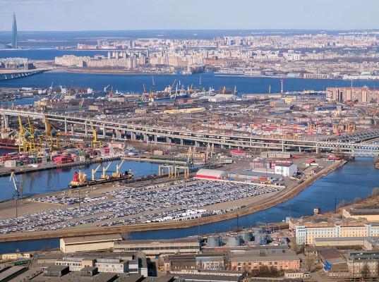 Объем перевалки грузов в Большом порту Санкт-Петербург вырос на 11,7%
