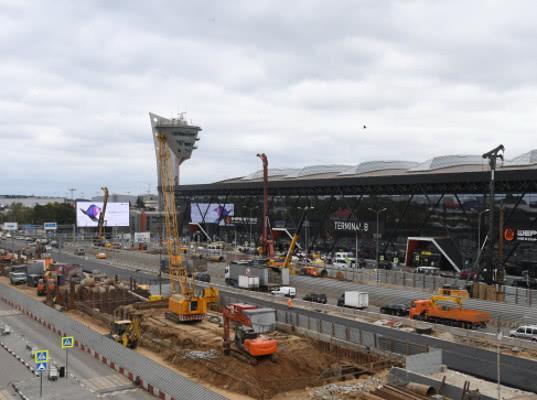 Терминалы аэропорта Шереметьево свяжет железнодорожная ветка