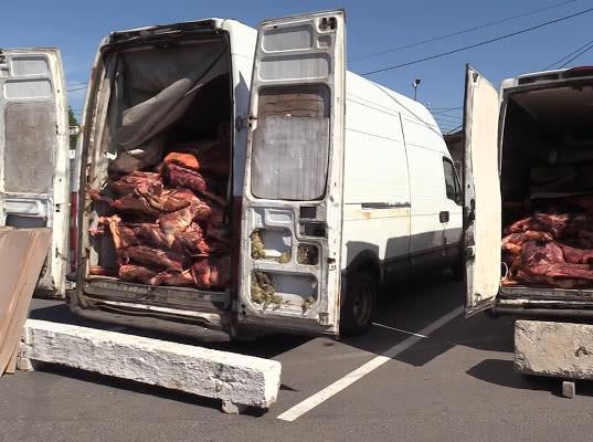 Белорусскую говядину тормознули на границе - Криминал