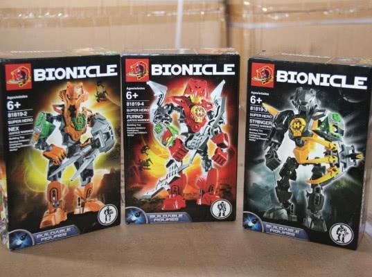 2700 контрафактных игрушек «BIONICLE» задержала Находкинская таможня - Криминал