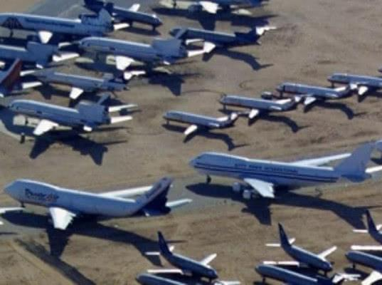 Boeing разместил непроданные 737 Max на парковке для машин сотрудников