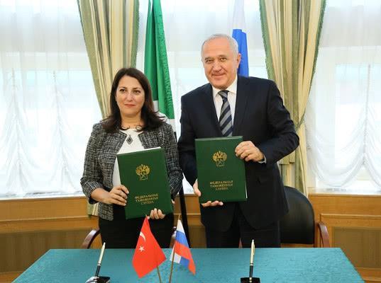 Турецкие и  российские таможенники совместно заседали в Москве