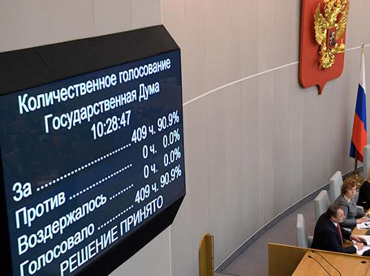 Госдума приняла в первом чтении законопроект о контрсанкциях - Новости таможни