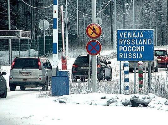 За неделю россияне получили на финской границе 150 штрафов - Криминал