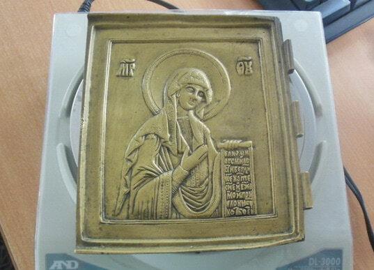 Курские таможенники задержали старинную икону - Криминал