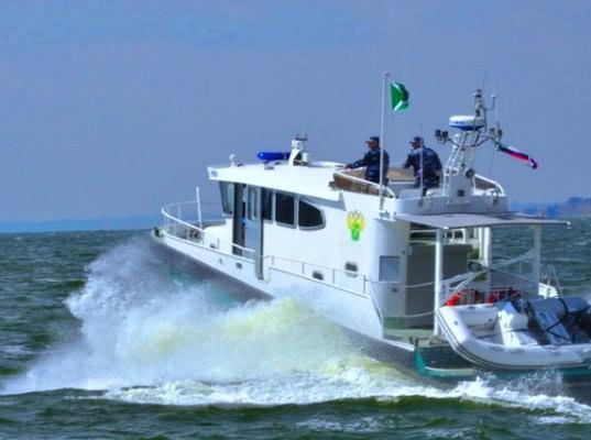 Морской отдел Астраханской таможни открыл навигацию 2018 года