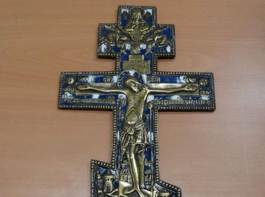 Самарские таможенники пресекли незаконную попытку вывоза старинного креста