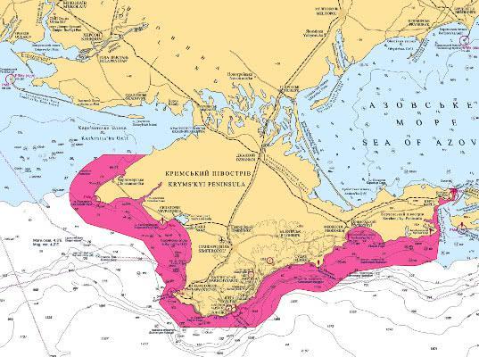 На Украине предложили создать режимный морской район вокруг Крыма - Логистика