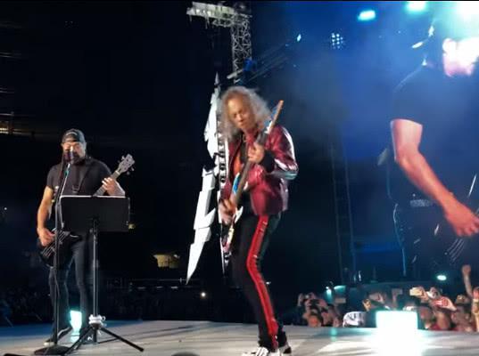 Metallica спела «Группу крови» на русском языке - Экономика и общество