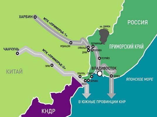 РФ и КНР планируют в течение 3 месяцев согласовать обоснование МТК в Приморье