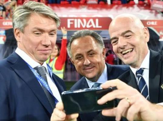 Мутко неофициально запретили появляться рядом с Инфантино и топ-менеджерами ФИФА