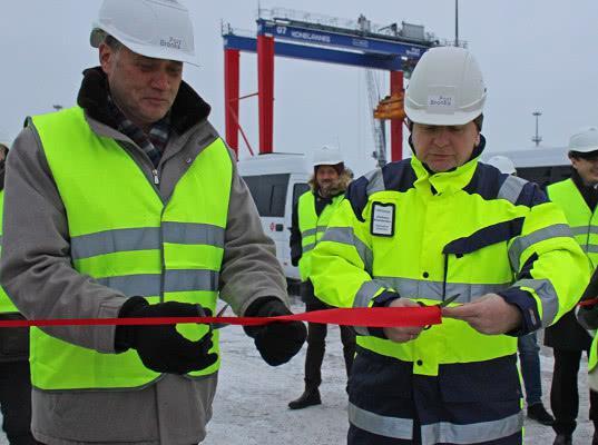 В порту «Бронка» открыт таможенный склад - Логистика