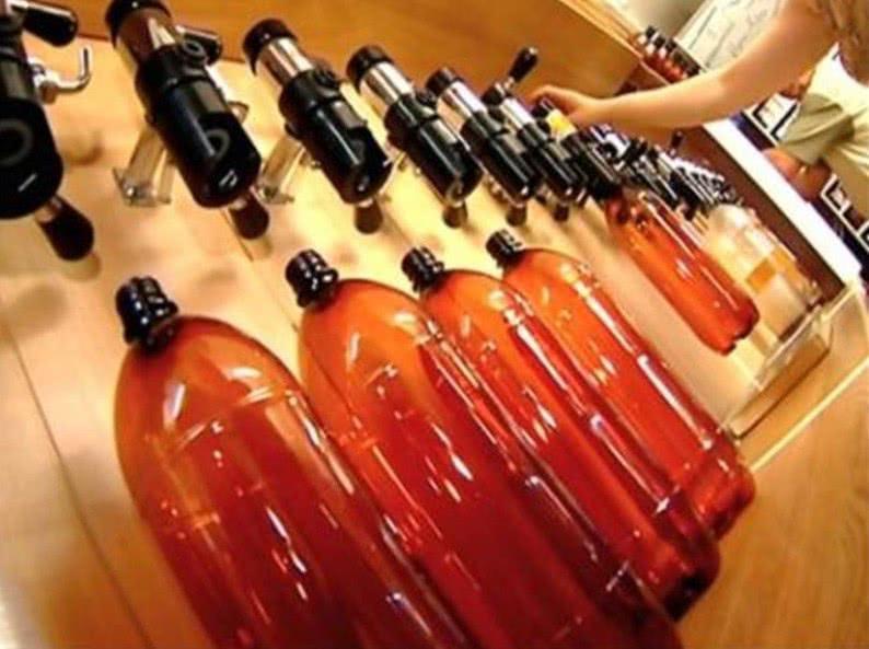 Производство пива в пластиковой таре для экспорта будет разрешено