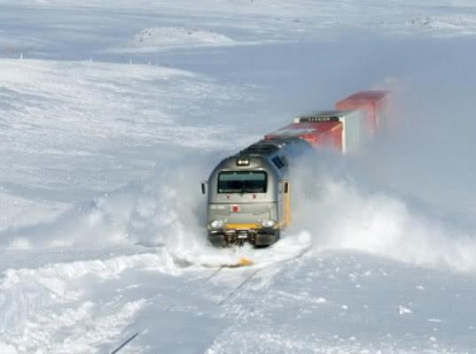 Проект скандинавской арктической железной дороги коммерчески нерентабелен - Логистика
