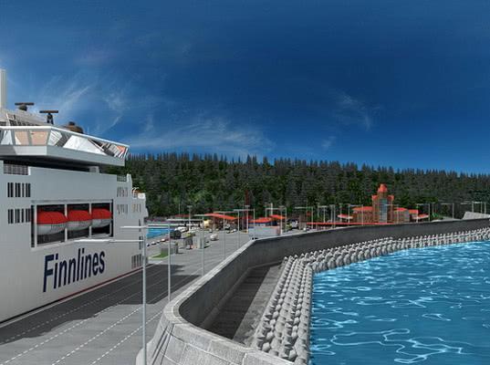 Петербургские круизные лайнеры могут зайти в порт под Калининградом в 2020 г.