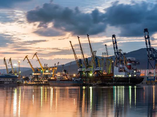 Новороссийск лидирует по грузообороту среди морских портов РФ в январе – ноябре 2018 года