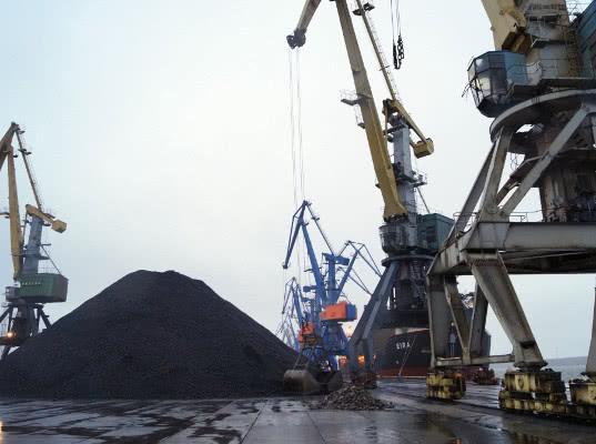 «Порт Высоцкий» с начала года отгрузил на экспорт 7 млн тонн угля