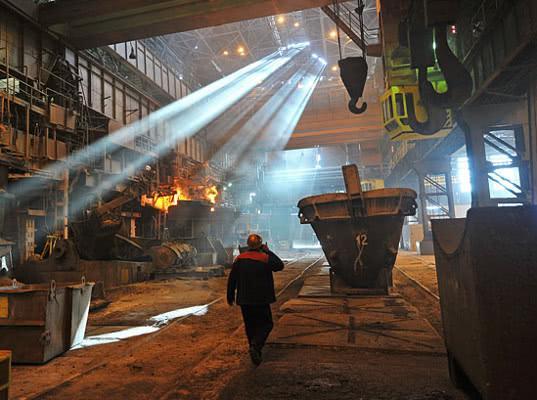 Росстат зафиксировал резкий спад промпроизводства в ноябре