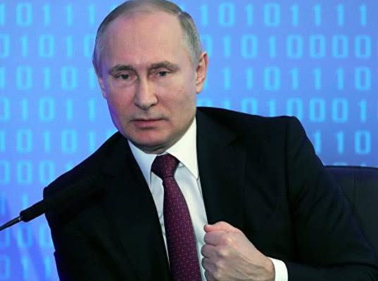 Путин обратиться с помощью инфографики к Федеральному собранию из нового места