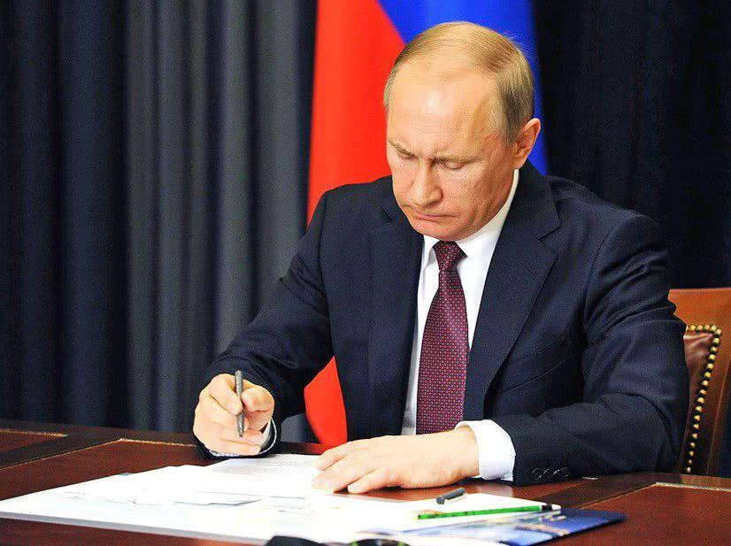 Путин подписал закон о приграничном сотрудничестве с Литвой и Эстонией