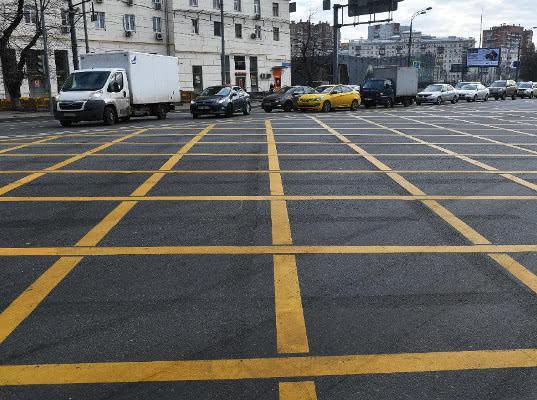 Новая разметка на дороге повысит собираемость штрафов