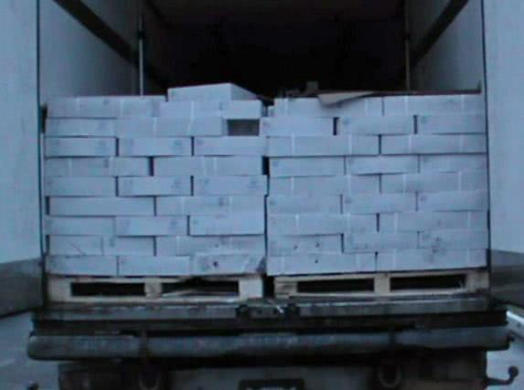 Таганрогские таможенники уничтожили санкционную рыбу