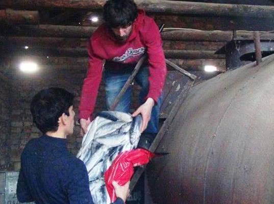 Замороженную норвежскую сельдь сожгли в утилизационной печи Хасавюрта