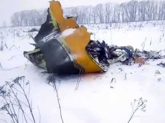 Причиной крушения Ан-148 могло стать обледенение датчиков скорости - Экономика и общество