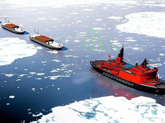Оператор Северного морского пути ожидает взрывного роста оборота грузов - Логистика