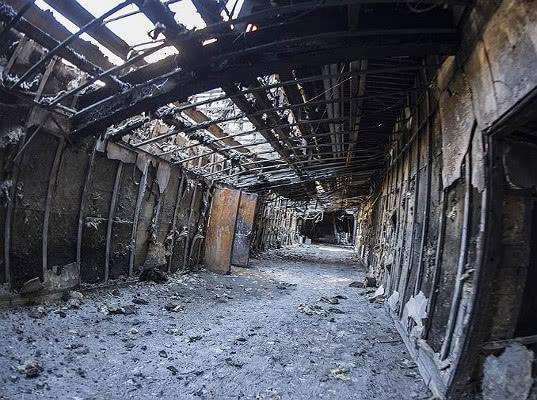 «Зимняя вишня» сгорела из-за протечки - Экономика и общество