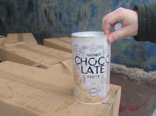 Балтийская таможня уничтожила австрийский шоколадный напиток