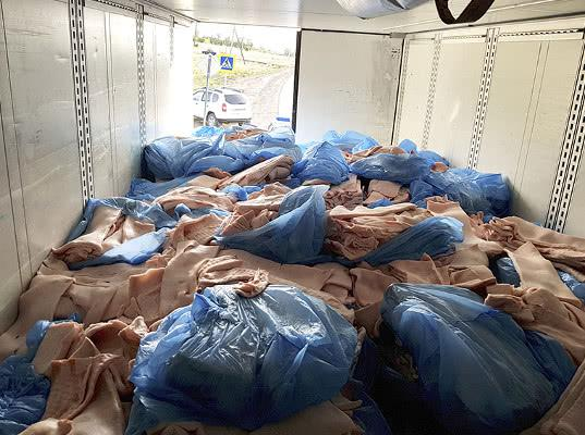 Россельхознадзор уничтожил в Белгородской области 35 тонн запрещенного к ввозу в Россию свиного шпика из Германии - Криминал