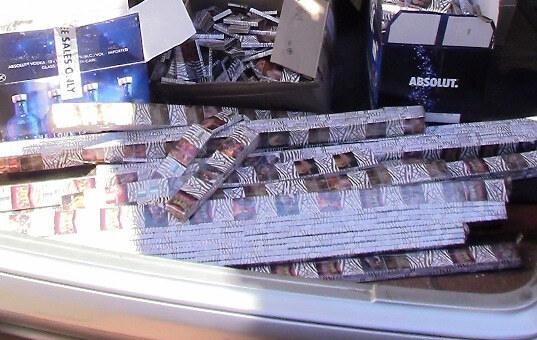 2760 пачек сигарет в тайниках «Мерседеса» - Криминал