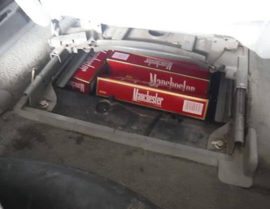 Сигареты вместо запасного колеса - Криминал