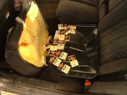 Кингисеппская таможня: обнаружены незадекларированные сигареты - Криминал