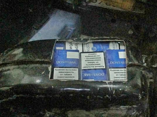 Сигареты в топливном баке