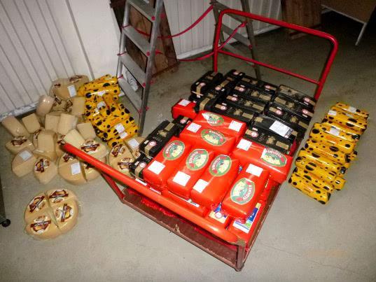 Таможенники задержали сыр в МАПП Мамоново - Криминал