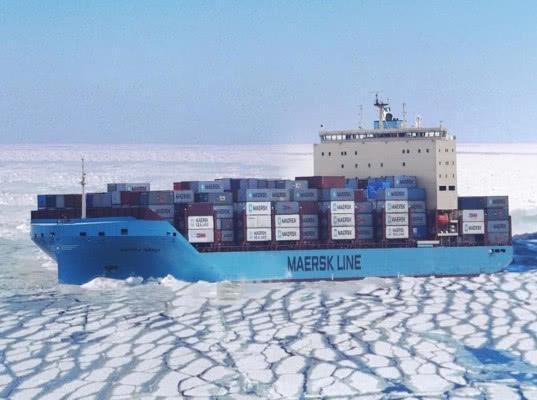 Maersk успешно провел тестовый рейс по Севморпути