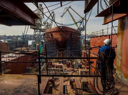 Балтийский завод потерял многомиллиардный контракт на строительство ледоколов Лидер - Логистика