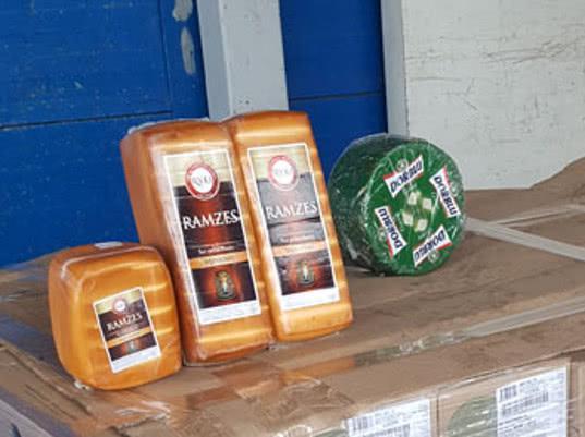 В Московской области уничтожено 2,6 тонны санкционных сыров