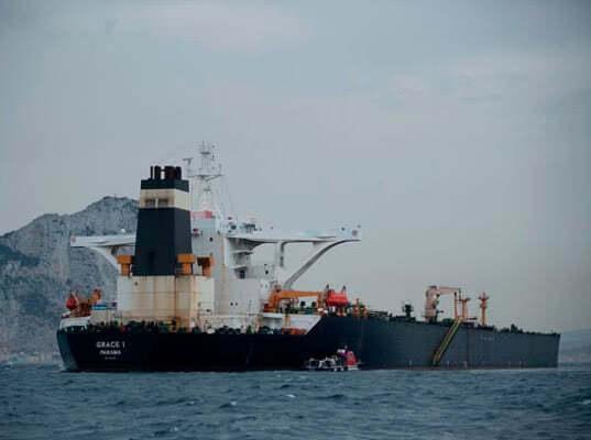 Перед выходом из Гибралтара освобожденный иранский танкер переименуют