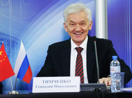 Тимченко рассказал о планах строительства еще одного газопровода в Китай