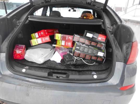 На МАПП Торфяновка пресечены попытки ввоза незадекларированных товаров