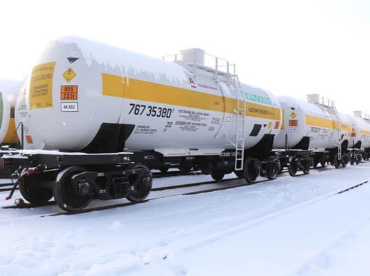 РЖД вводят скидку в 50% на перевозки в Белоруссию порожних цистерн из-под нефтепродуктов
