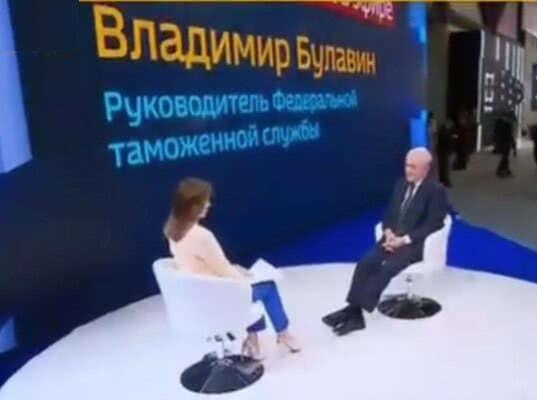 Владимир Булавин рассказал телеканалу Россия 24 о борьбе с контрафактом (видео)