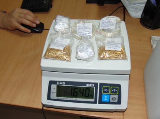 Контрабанда золота на 4000000  задержана Минераловодской таможней - Криминал