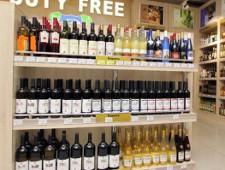 Алкоголь сняли с полок duty free на границе с Финляндией