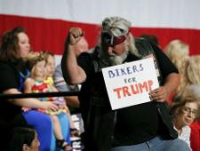 Трамп написал, что байкеры уже едут на его инаугурацию